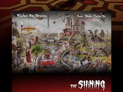 Mocktober - Stephen King Collection halloween mocktober challenge website mobile responsive design
