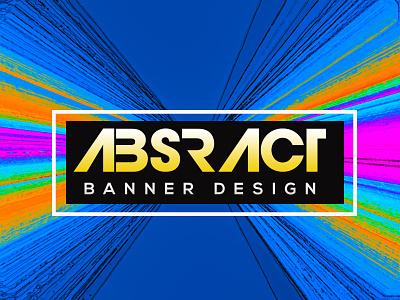 abstract banner social media ads web banner ad social media banner cover design