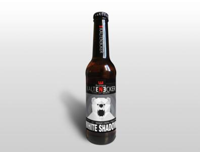 Geometric Bear Illustration - Beer Label Design