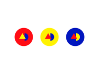Colorful Identity Badges/Stickers