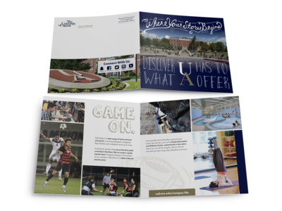 University of Akron teaser brochure