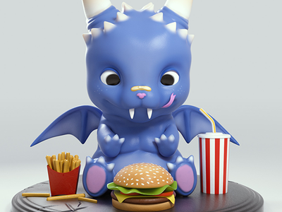 Hungry Baby Dragon