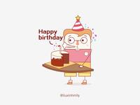 Mr.Jian&Ms.Jiao——Happy birthday