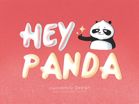 The name for HEY PANDA,by iPad Pro