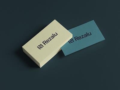 Rezalu Bizzies stationery business cards stationery mockup brand logo resume cv business cards branding