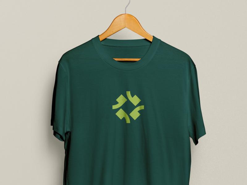 The Rose Compass politics compass logo branding tshirt