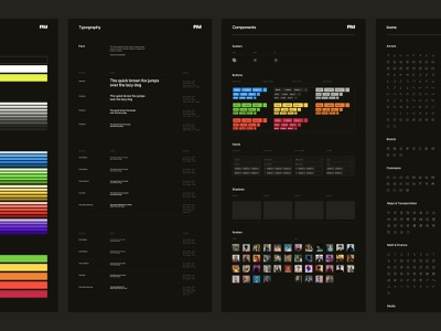 UI Kit ui design system typography product design uikit uiux ui