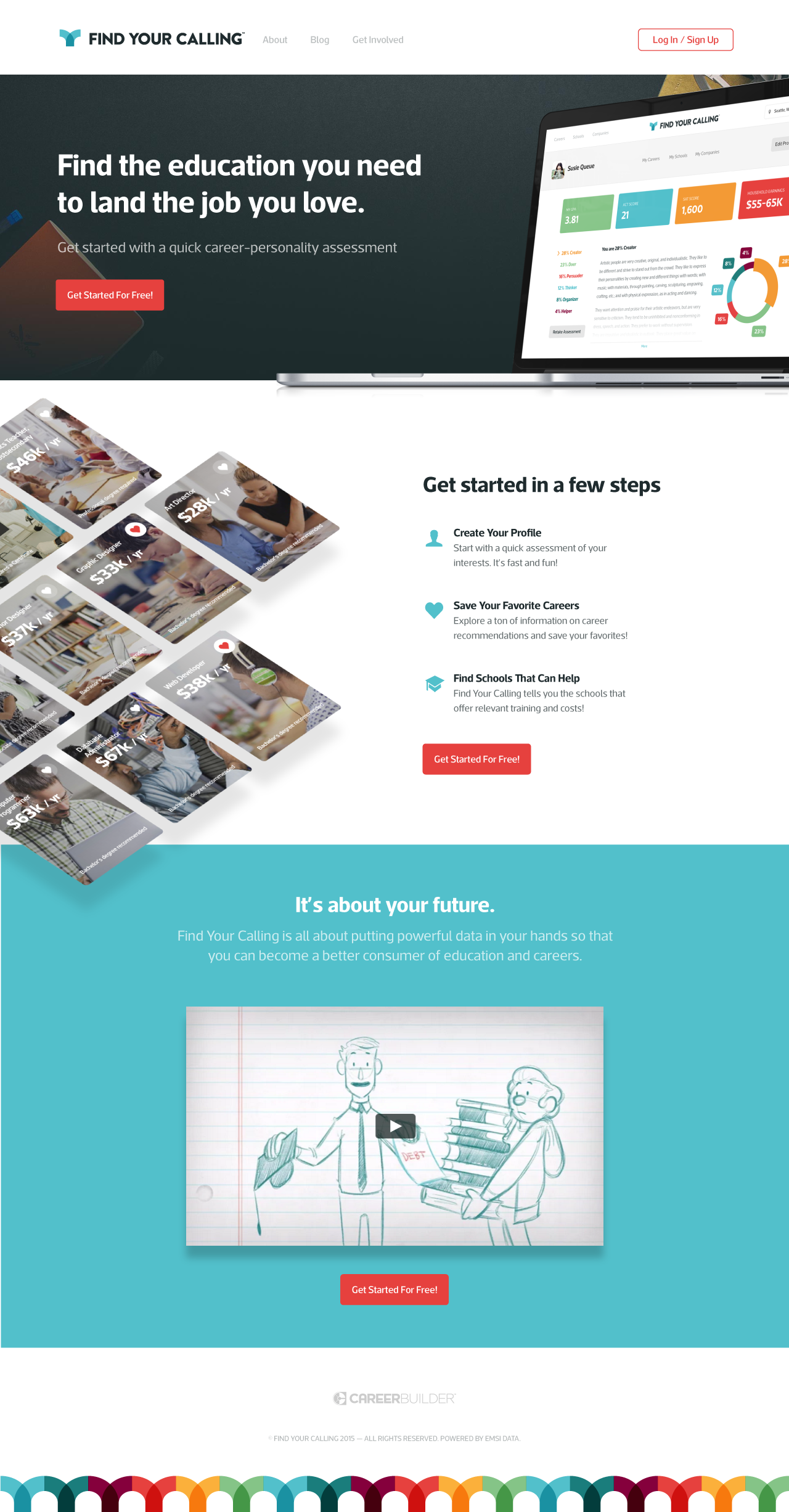 Fyc landing page