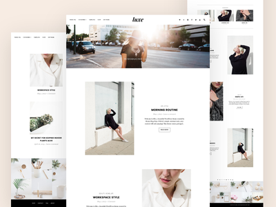 Luxe, WordPress Pro Blogging Theme