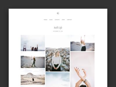 Gallery Portfolio Page