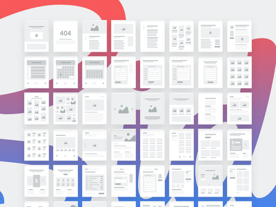 Sitemap Minipages focus lab ux ui grayscale mini wireframe wireframe flows user flow sitemap