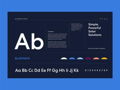 BlueWave Typography