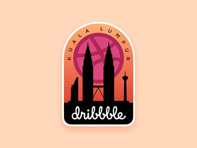 Kuala Lumpur Dribbble meetup badge meetup kuala lumpur malaysia