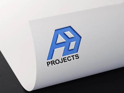 Letter AB Logo Concept vector illustration design simple modern logo design modern logodesign branding logo graphic design motion graphics 3d animation ui letter ab logo concept