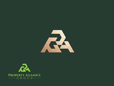 Letter PAG Logo Concept vector illustration design simple modern logo design modern logodesign logo branding 3d motion graphics graphic design ui animation letter pag logo concept