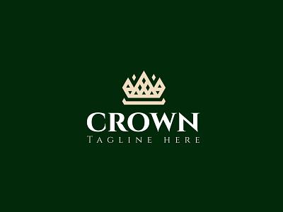 Crown Logo vector illustration design simple modern logo design modern logodesign branding ui logo motion graphics graphic design animation crown logo