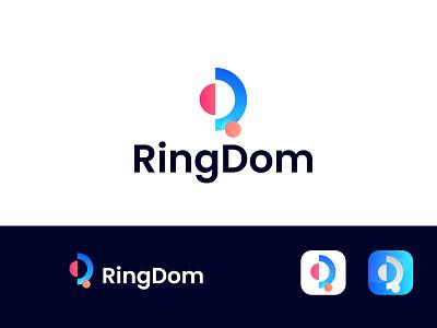 Modern D+R Logo Design 3d vector illustration design simple ui modern logo design modern logodesign branding logo motion graphics graphic design animation modern dr logo design