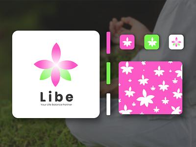Libe's Logo minimal icon website app web design branding logo