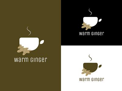 Warm Ginger Logo brand identity brand design logodesign graphic design icon designer designer portfolio designer logo logo design branding