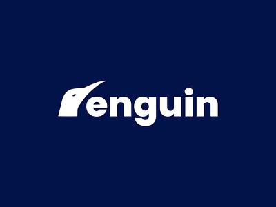 Penguin Logo logodesign graphic design designer brand identity brand design designer portfolio designer logo logo design branding