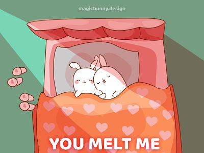 Bunny Morning cartoon illustration cartooning cartoon character illustration art illustration illustrator bunny