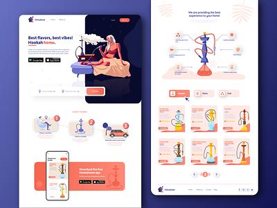 Hookahome web design uidesign website productdesign webdesign