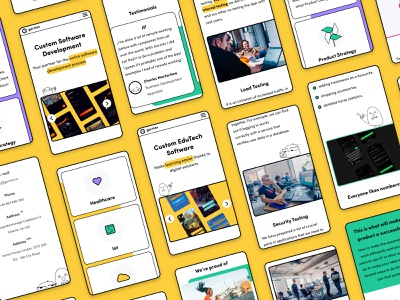 Gorrion's Website Redesign | New Brand Direction uidesign website design yellow redesign brand identity brand branding mobile web webdesign web design website ui design uiux ui ux design minimal