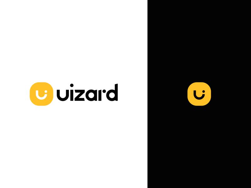 Uizard Logo ai icon typography minimal uizard logotype identity branding logo