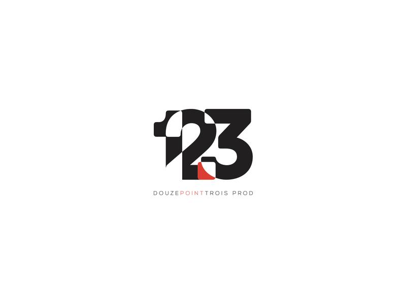 12.3 Prod Logo animation vector modern letter identity typography camera brand identity video minimal logo branding