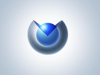 Glass Spheres glass sphere logo mark icon