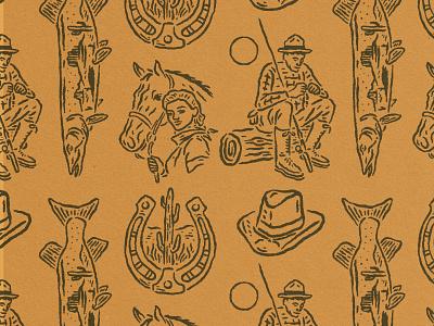 Western maka outdoor western design branding vintage vintage logo vintage design merchandise badge design badge