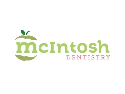 Mcintosh Dentistry clean bright simple denver green cosmetic apple dental