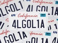Algolia licenseplate dribbble