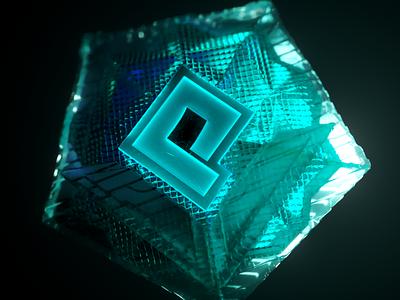 Powder App : 🏆Badges colors illustraion branding badge glass neon c4d 3d