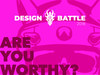 Design Battle 2018 - Dribbble Challenge
