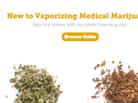 Before/After Vaporizing feature