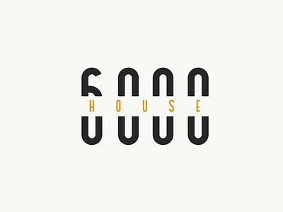 House 6000 house branding simple design icon vector