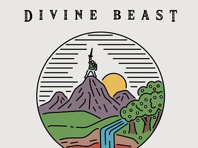 Divine Reject divine link zelda drawing simple design illustration vector