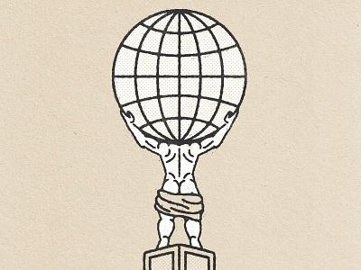 Atlas_ Texture exploration texture atlas branding logo icon simple design illustration vector