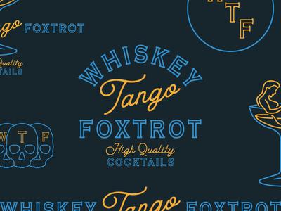 Whiskey Tango Foxtrot Logo