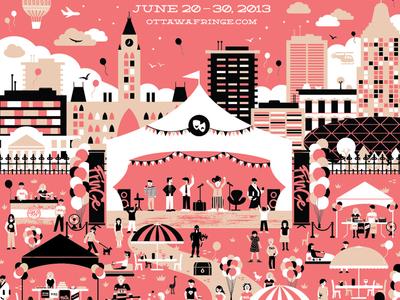 Ottawa Fringe Festival Poster 2013