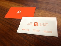 Arts Court Theatre Business Cards