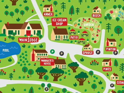 The Opinicon Site Map