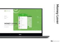 Money Lover landingpage redesign
