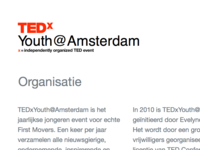 TEDxYouth@Amsterdam