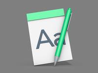 3d app icon render