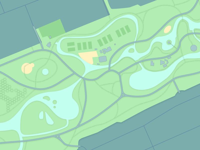 Vondelpark map by yakim