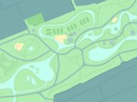 Vondelpark map WIP