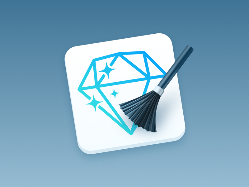 SketchCleaner - Plugin Icon brush skeuomorphism macos icon rename layer name clean sketchcleaner sketchplugin plugin sketch