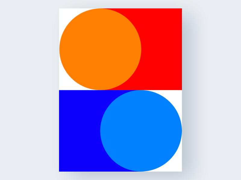 Untitled №4 experiment yakim challenge modernism geometric poster colors shapes abstract art untitled series